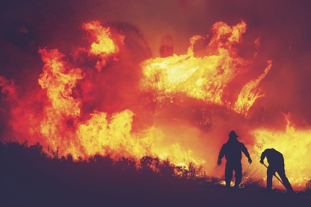 3.火事の煙を見る夢
